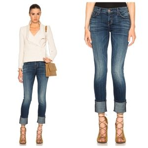 Current/Elliott The Cuffed Skinny Jeans in Envy